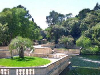 The enchanting city of nimes the french traveler - Jardin de la fontaine nimes limoges ...