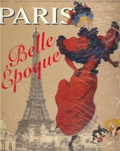 Poster Paris Belle Epqoue